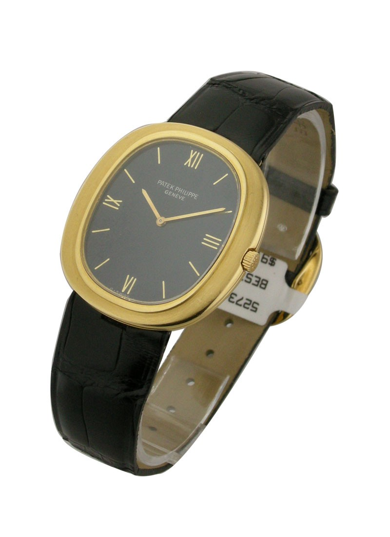 Patek Philippe 3589 - Men's Yellow Gold Ellipse
