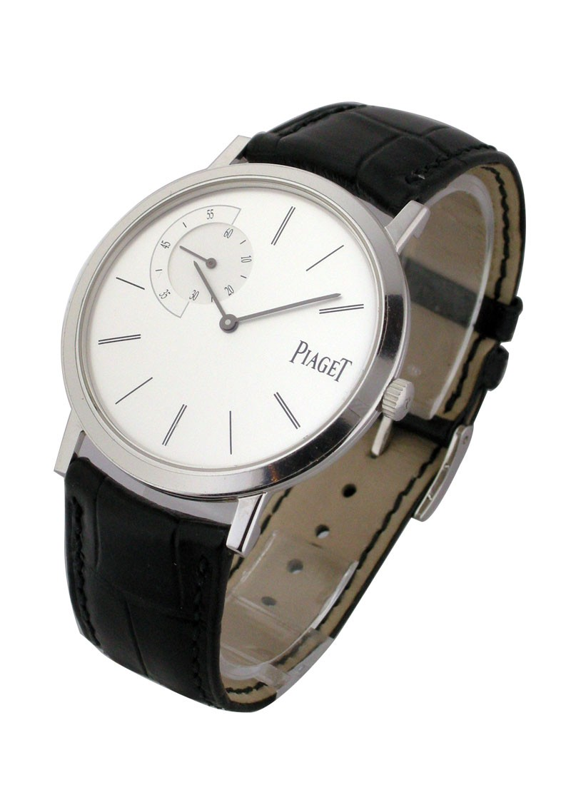 Piaget Altiplano Petit Seconds White Gold
