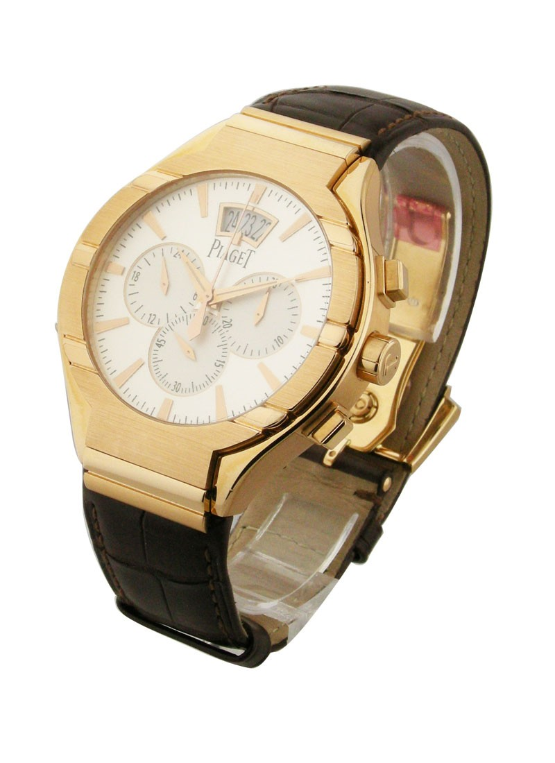 Piaget Polo 43mm Large Size Chronograph in Rose Gold