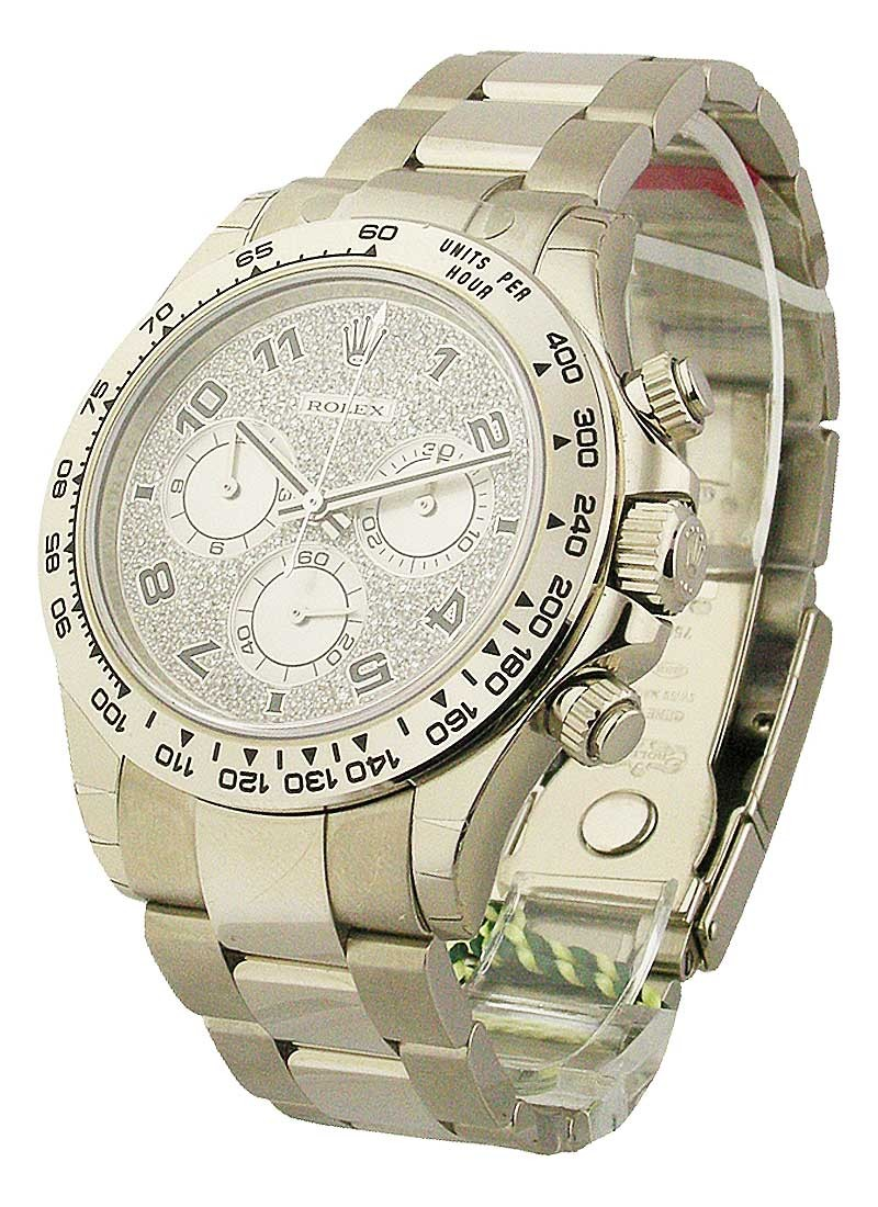 Rolex Unworn Daytona Cosmograph in White Gold - Special Edition