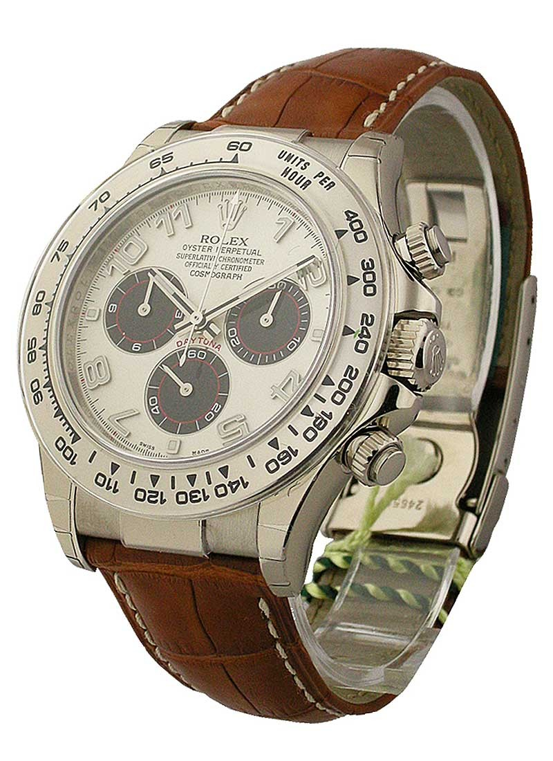 Rolex Unworn Daytona in White Gold
