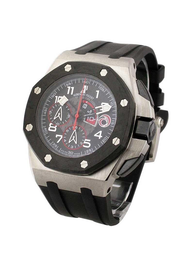 Audemars Piguet Offshore Royal Oak Team Alinghi in Platinum with Forged Cabon Bezel