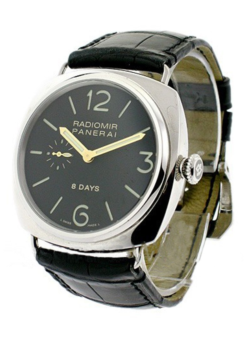 Panerai PAM 190   8 Day Radiomir in Steel