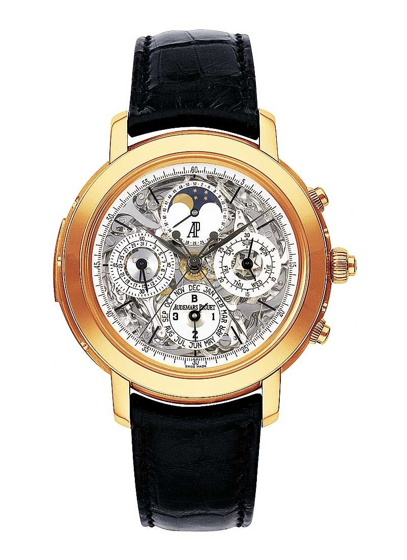 Audemars Piguet Jules Audemars Grande Complication in Rose Gold
