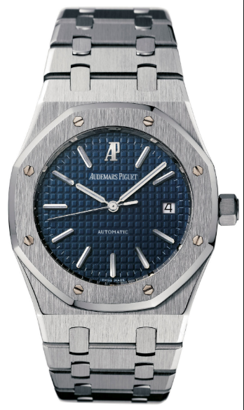 Audemars Piguet Royal Oak 39mm Large Size with Blue Dial in Steel