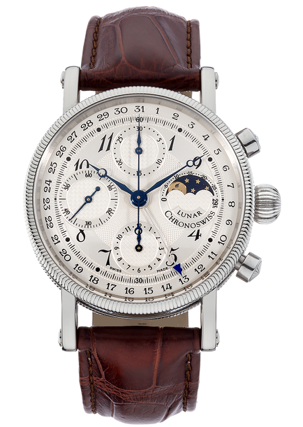 Chronoswiss Lunar Chronograph in Steel