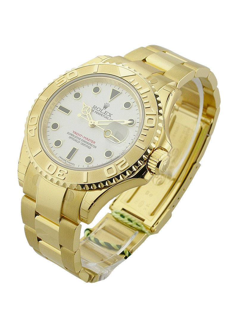 Rolex Used Yacht Master 1   Large Size in Yellow Gold    16628