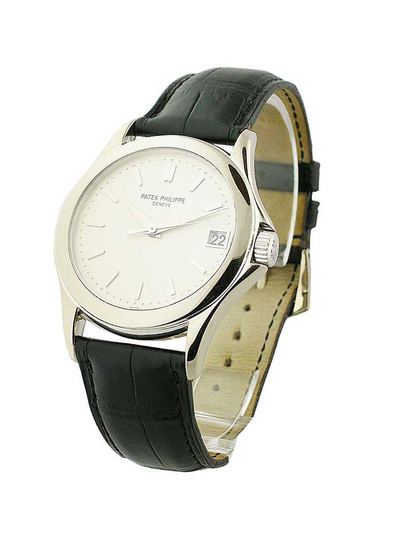 Patek Philippe Calatrava in White gold