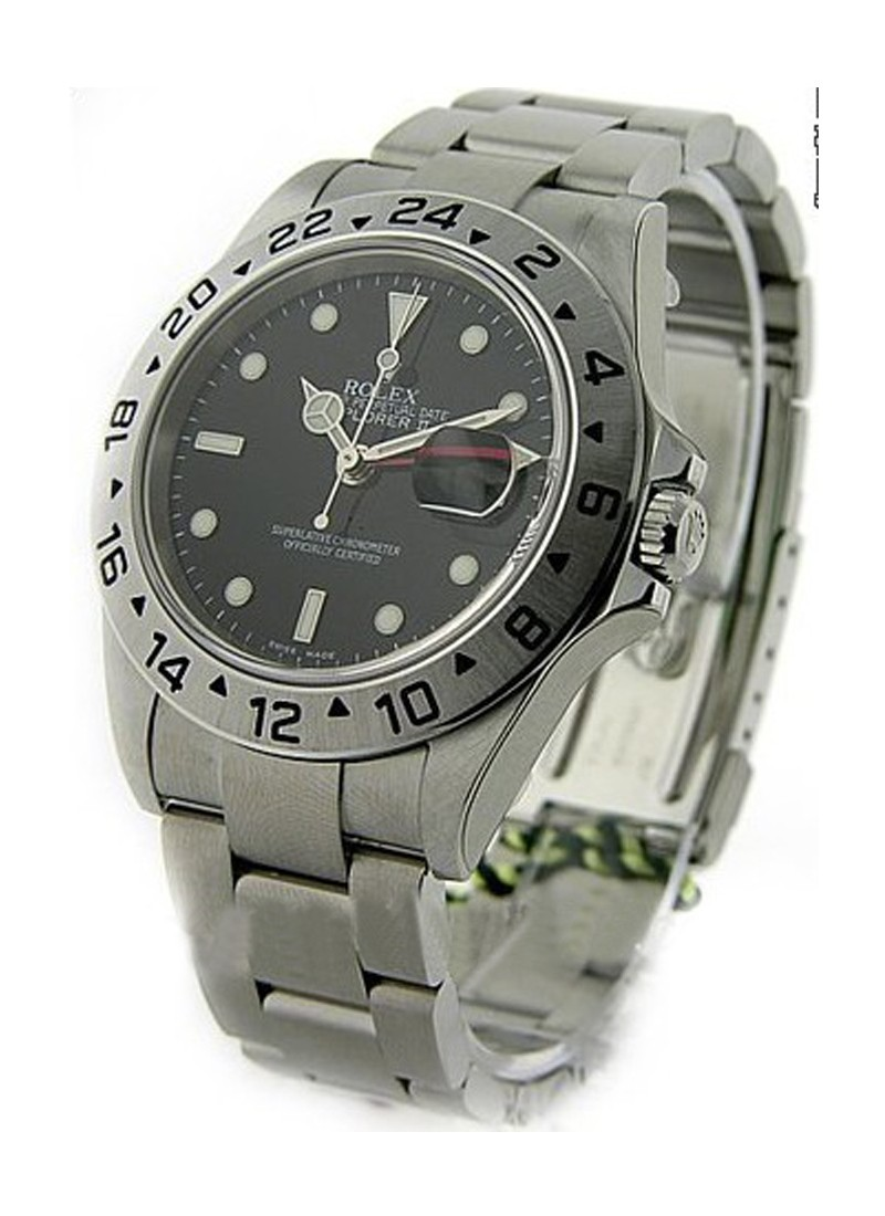 Rolex Unworn Explorer II 40mm in Steel