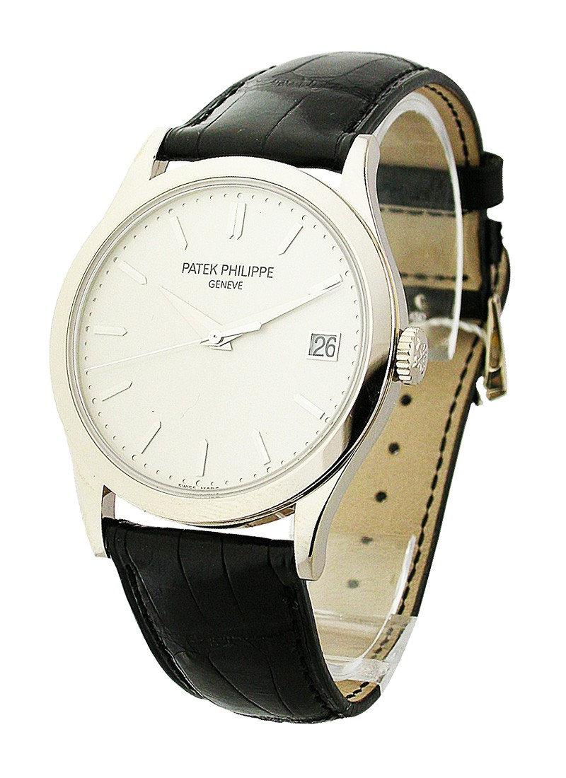 Patek Philippe Calatrava 5296G in White Gold