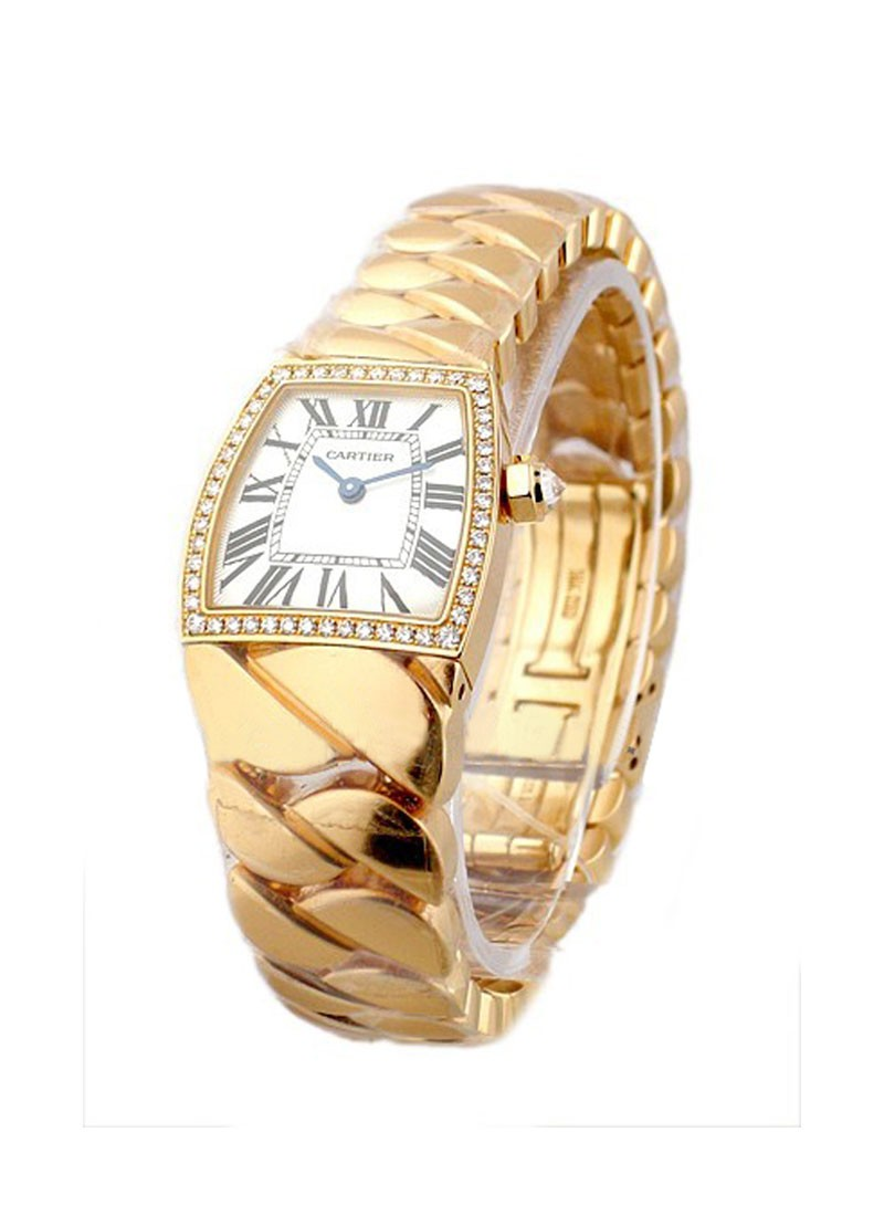 Cartier La Dona de Cartier Small Size in Rose Gold with Diamond Bezel