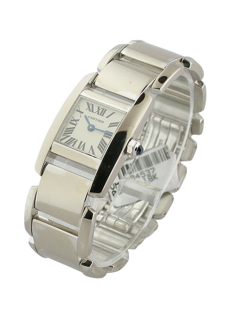 Cartier Tankissime - Small Size in White Gold