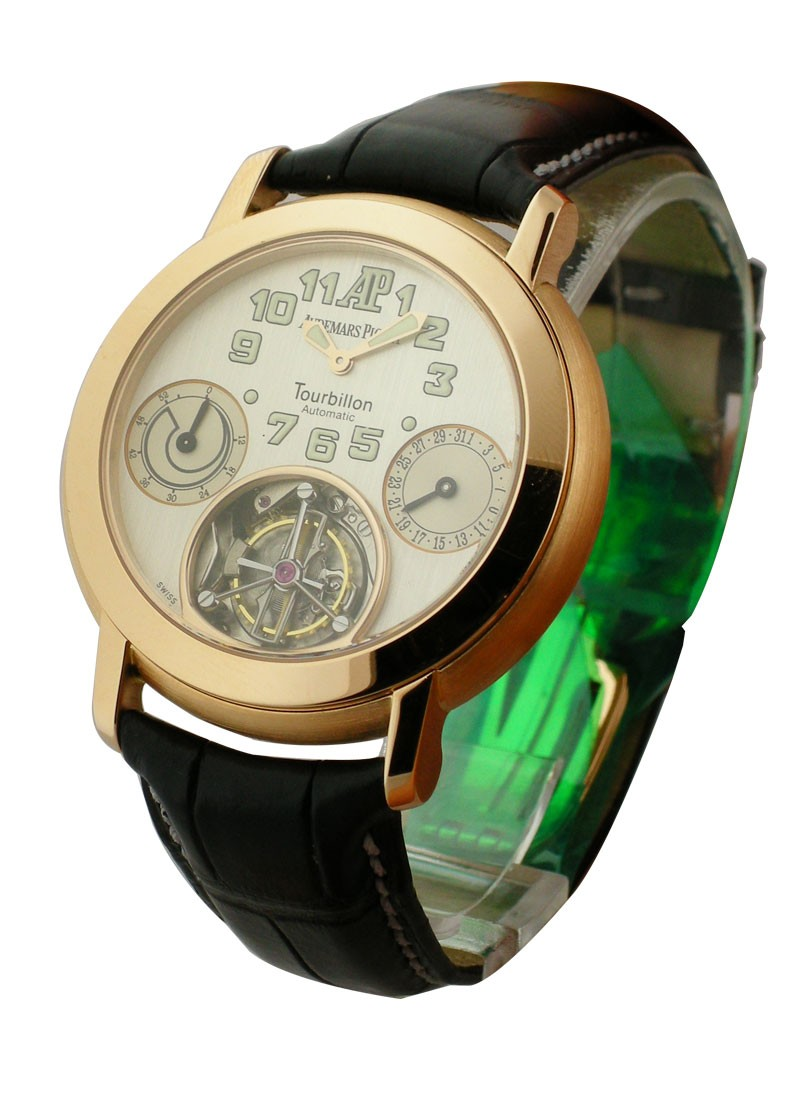 Audemars Piguet Jules Audemars Automatic Tourbillon in Rose Gold