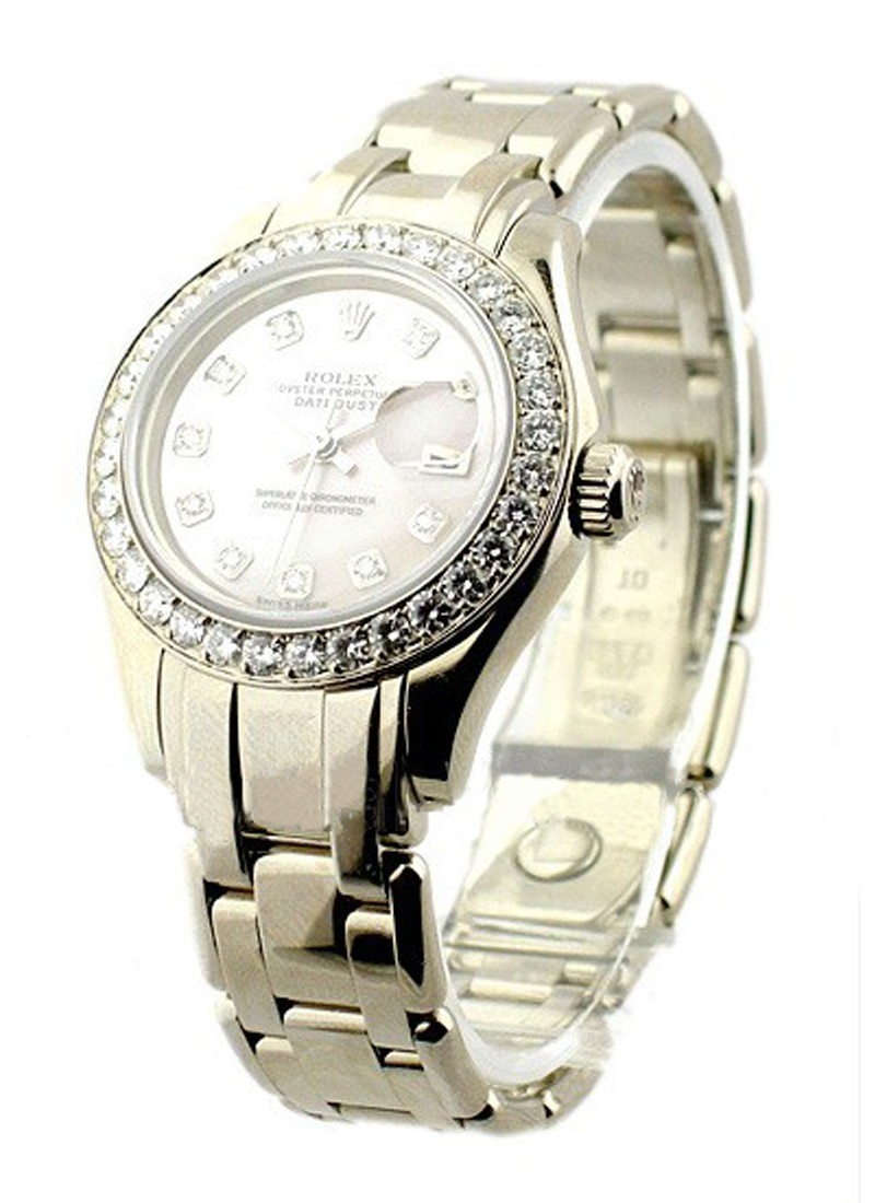 Rolex Used Lady''''s White Gold Masterpiece 80299