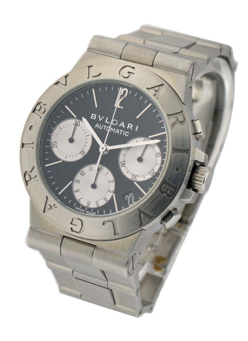 Bvlgari Diagono 35mm Chronograph