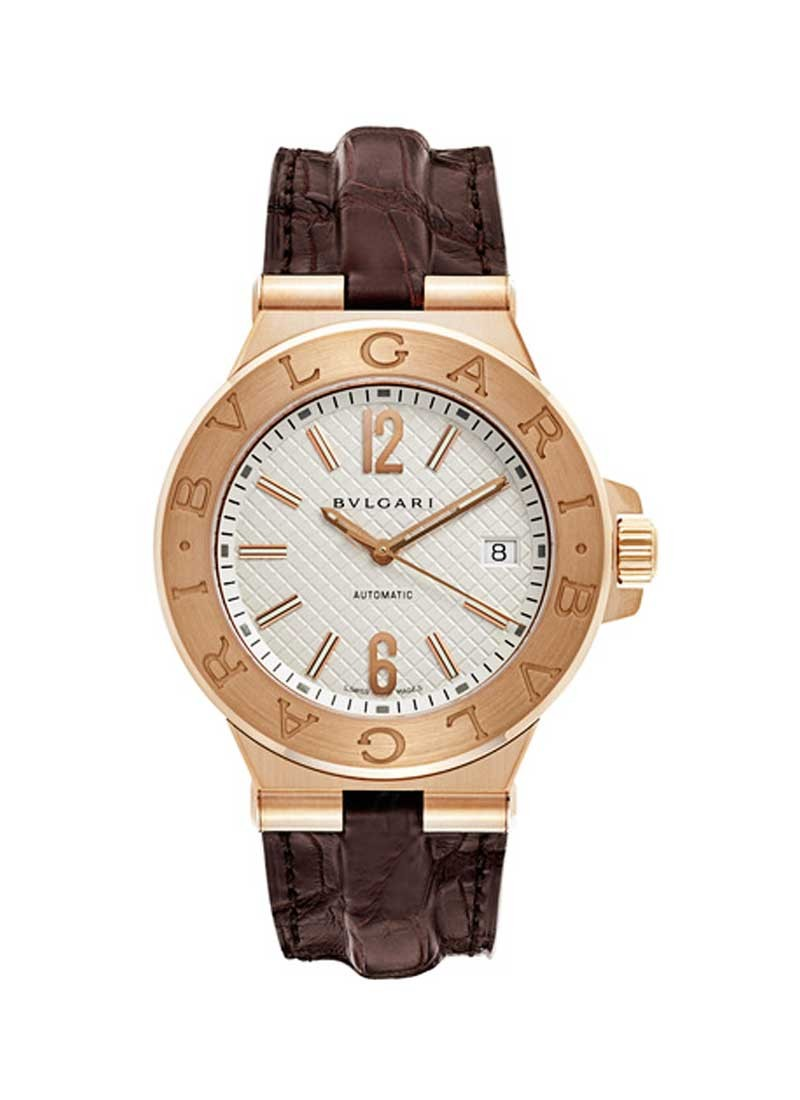 Bvlgari Diagono 40mm Automatic in Rose Gold