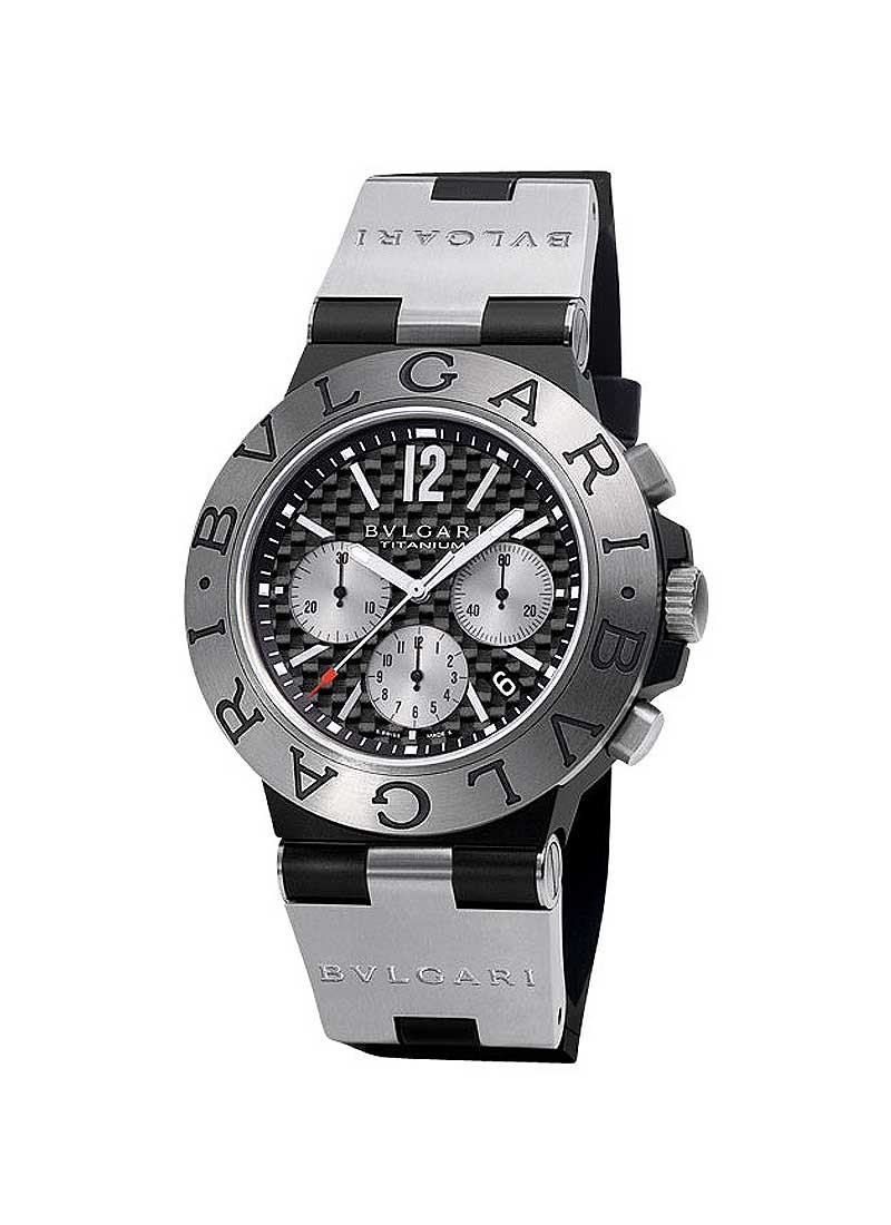 Bvlgari Diagono 44mm Chronograph