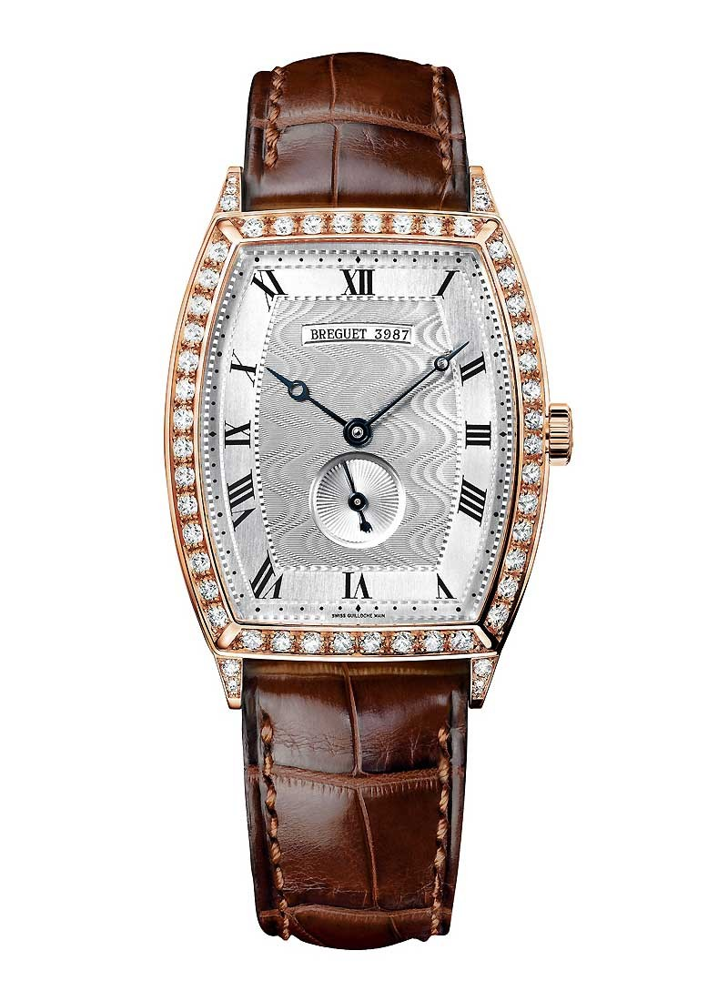 Breguet Heritage Automatic in Rose Gold with Diamond Bezel