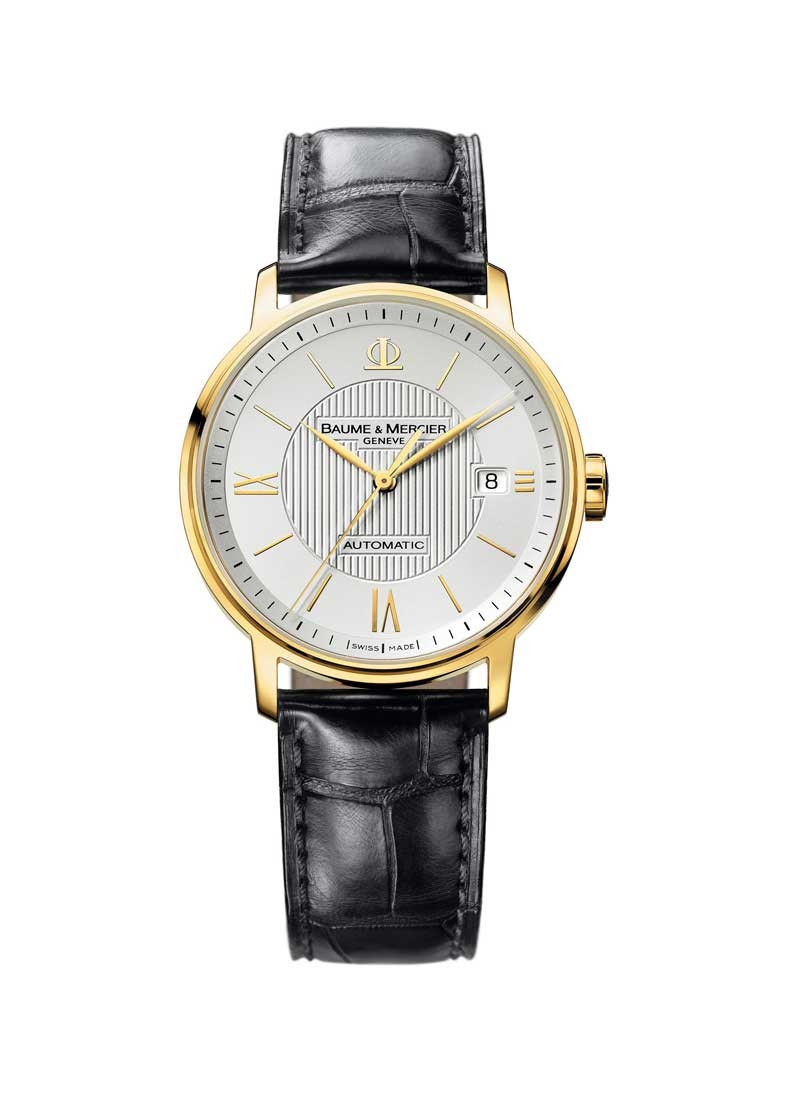 Baume & Mercier Classima Executives Power Reserve in Yellow Gold