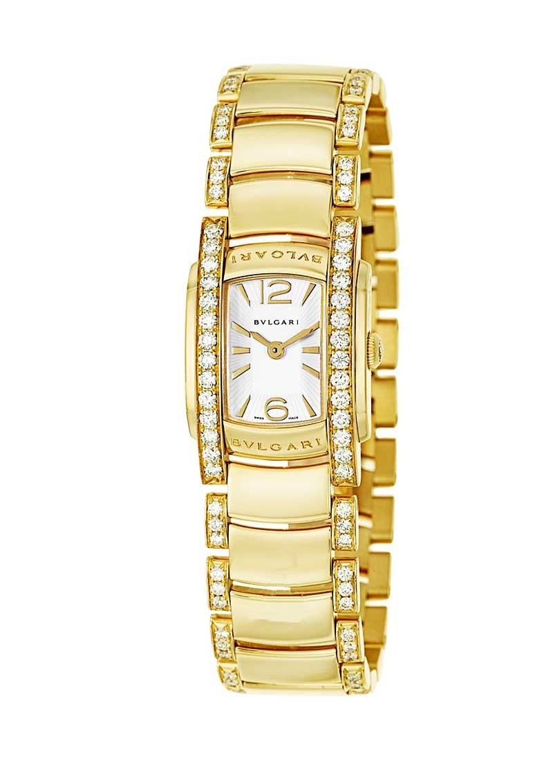 Bvlgari Assioma D in Yellow Gold with Diamond Bezel