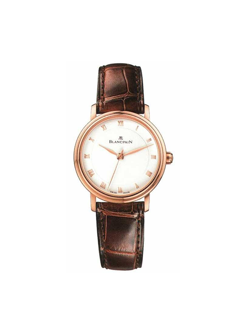 Blancpain Villeret 29mm Automatic in Rose Gold