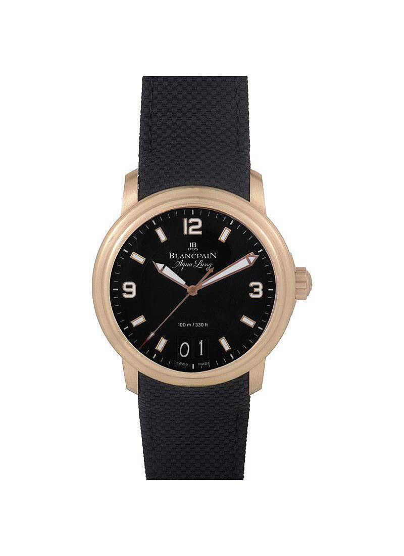 Blancpain Leman Big Date 40mm Automatic in Rose Gold