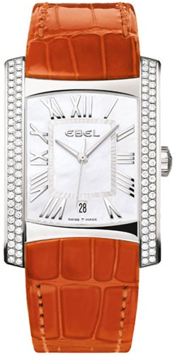 Ebel Brasilia in Steel with 2 Row Diamond Bezel