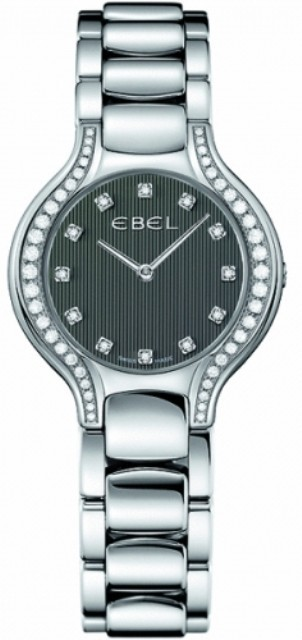 Ebel Beluga Mini 26mm Quartz in Steel with Diamond Bezel