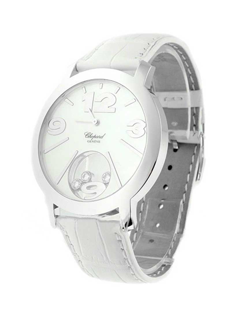 Chopard Happy Sun in White Gold