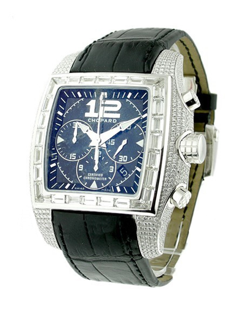 Chopard Two O Ten in White Gold with Pave Diamond Case
