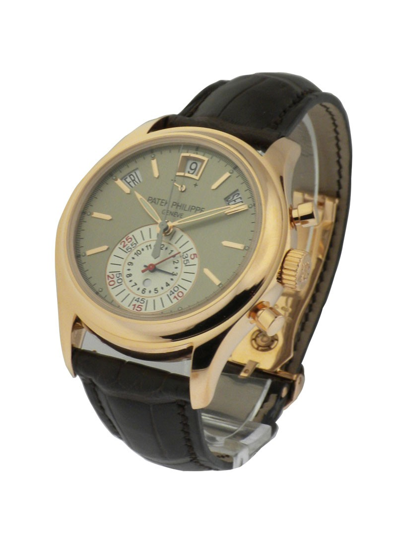 Patek Philippe 5960 Automatic Chronograph Automatic in Rose Gold