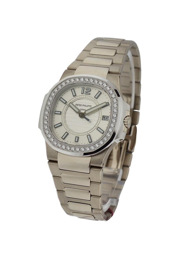Patek Philippe Lady's Nautilus with Diamond Bezel  ref 7010/1G