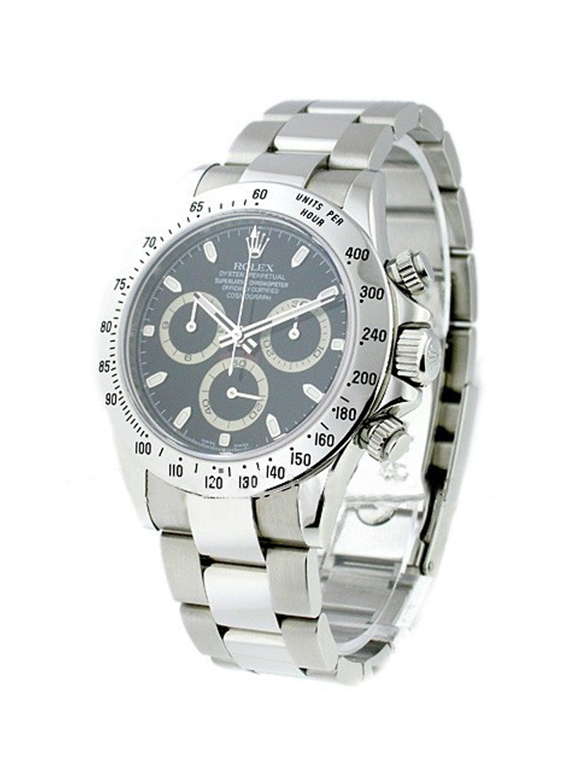 Rolex Used Daytona 40mm Men's in Steel