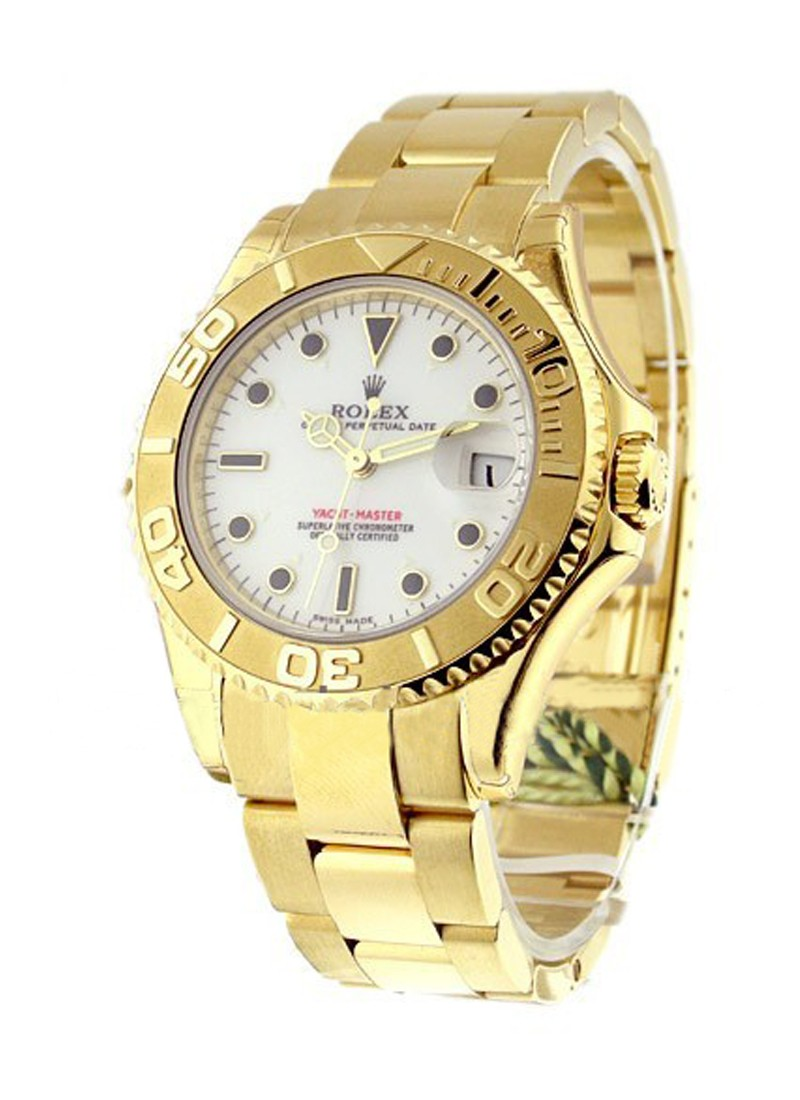 Rolex Unworn All Gold Yachtmaster   Ref 168628