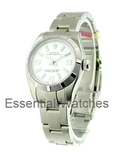 Rolex Unworn Lady's No Date Steel with Oyster Bracelet 176210