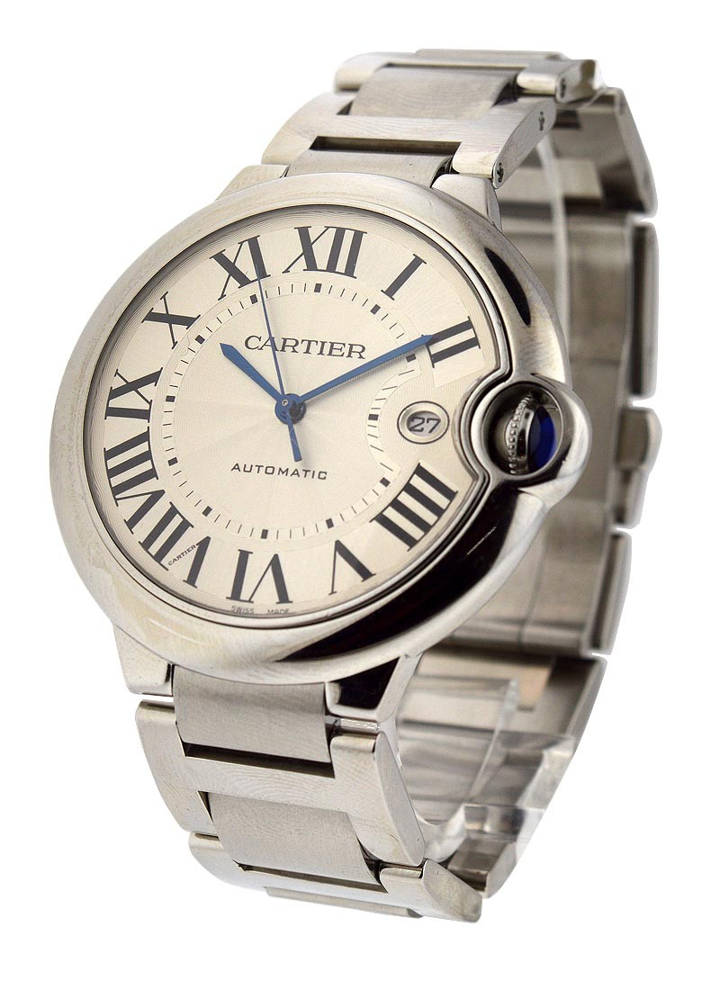 Cartier Ballon Bleu in Steel 42mm