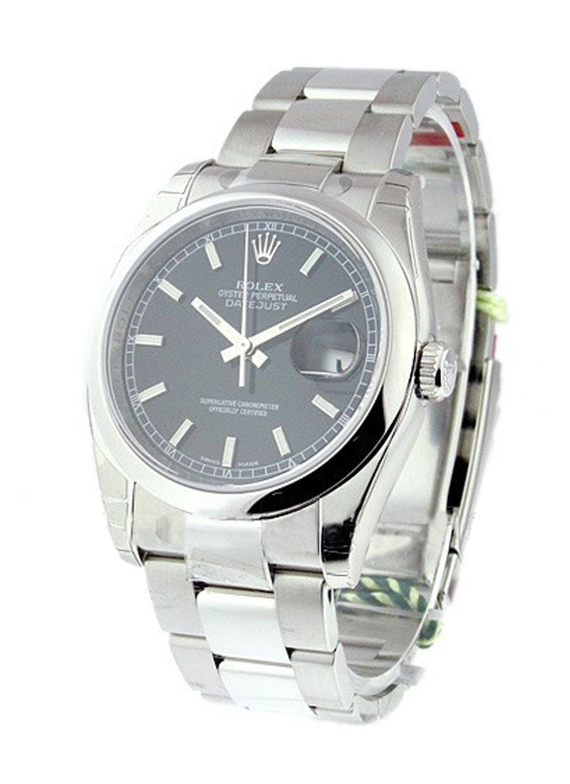 Rolex Unworn Mens DATEJUST with Oyster Bracelet