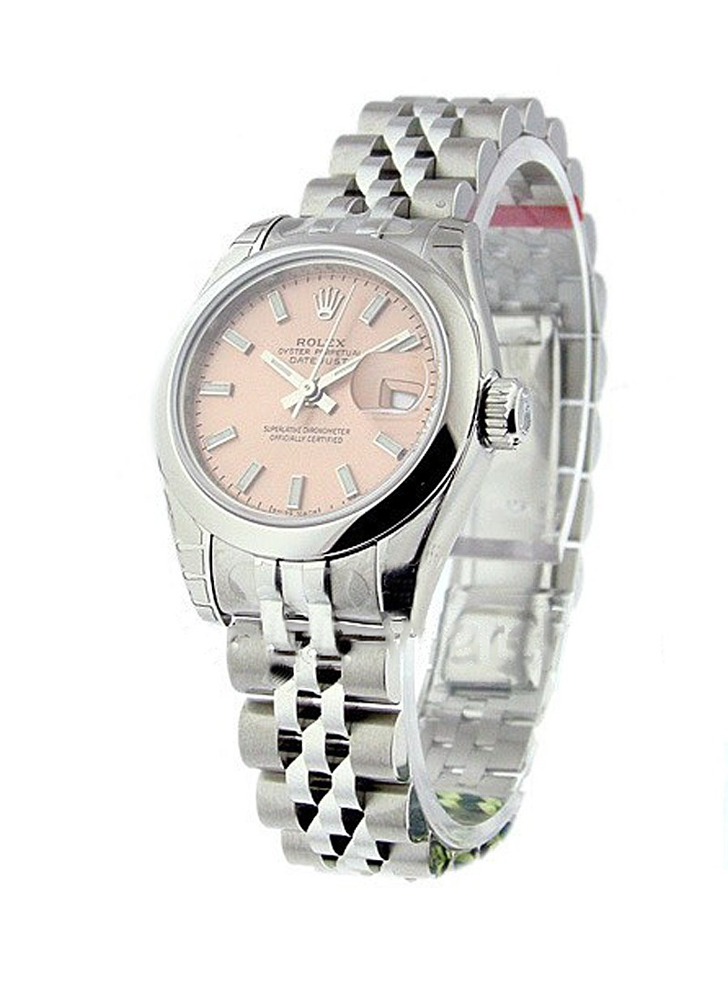 Rolex Unworn Lady's Datejust with Jubilee Bracelet 179160