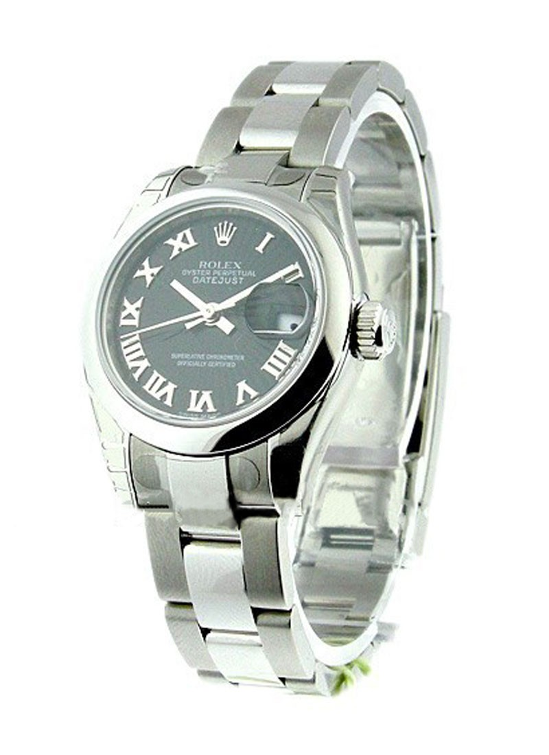 Rolex Unworn Datejust Ladies 26mm in Steel with Domed Bezel