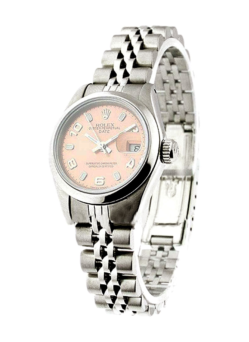 Rolex Used Lady's Datejut 26mm with Smooth Bezel