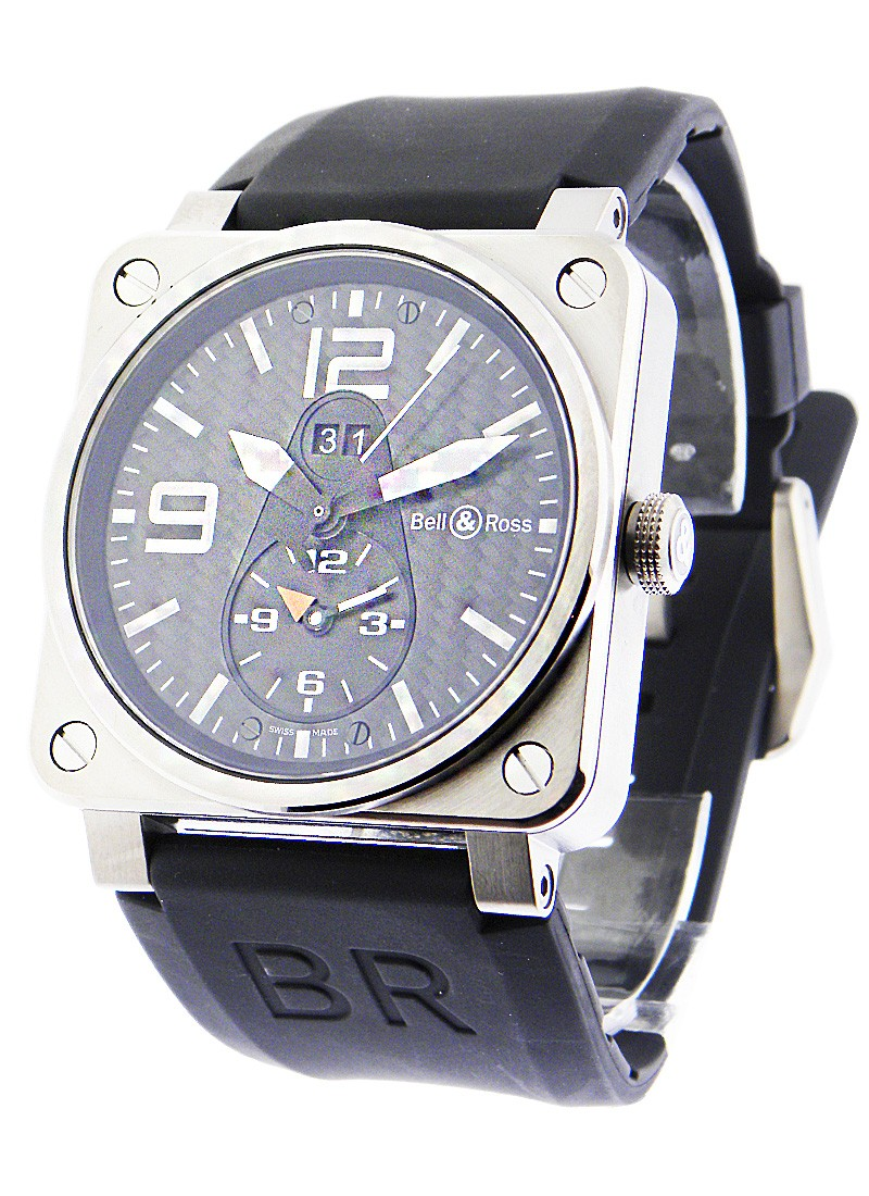 Bell & Ross BR03 51 Insturment GMT in Titanium