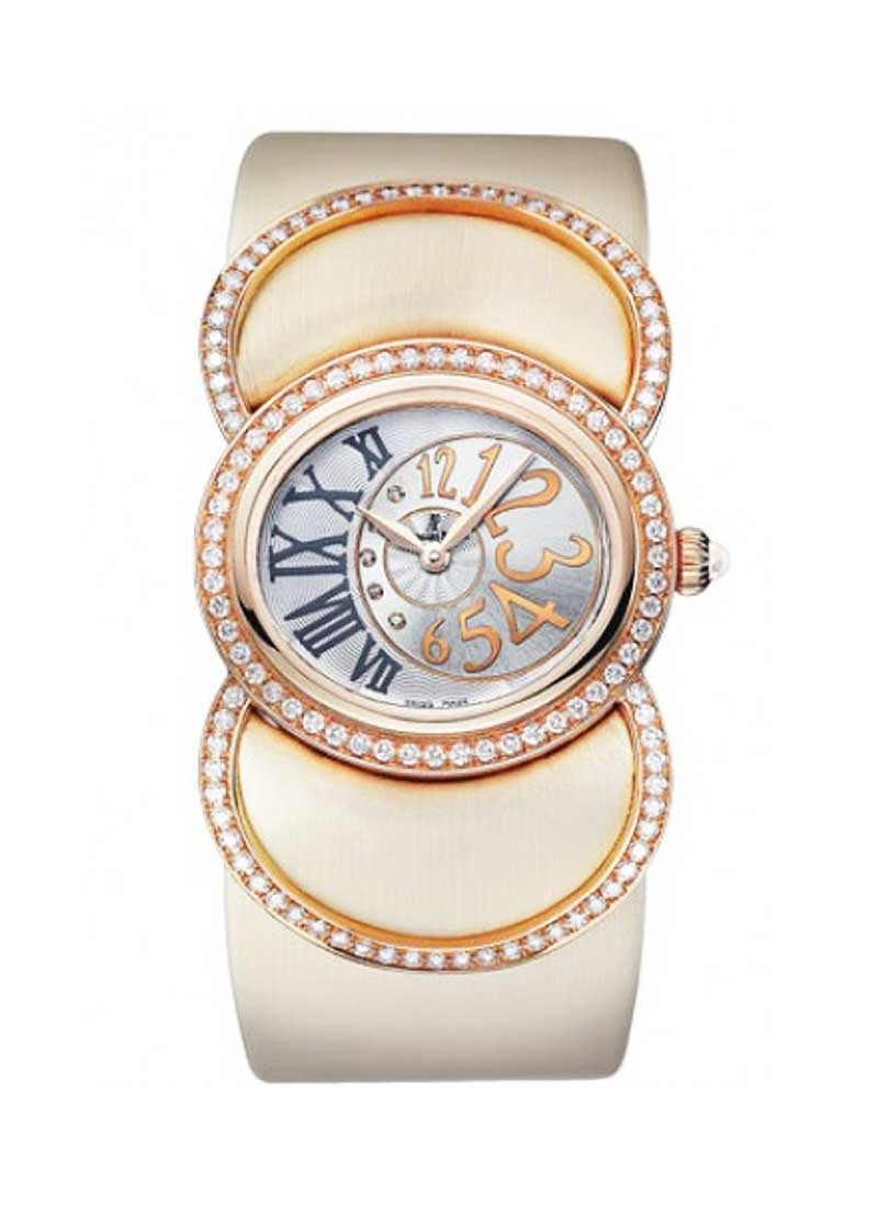 Audemars Piguet Contemporary Millenary Precieuse in Rose Gold  with Diamond Bezel