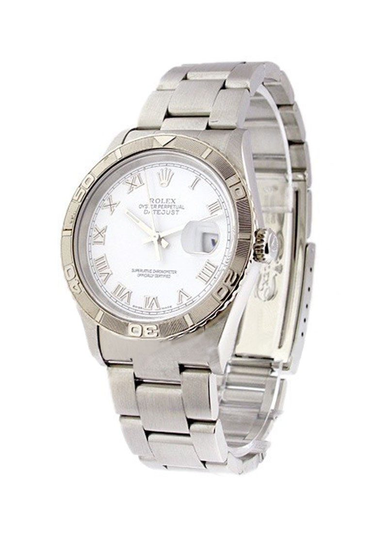 Rolex Used  Mens Steel Datejust with Turnograph Bezel