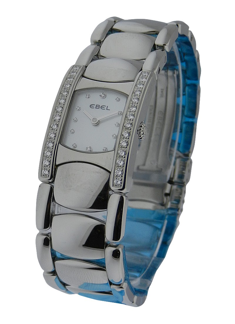 Ebel Beluga Manchette with Diamond Bezel