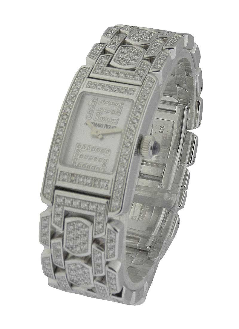 Audemars Piguet Promesse in White Gold with Diamond Case   Small Size