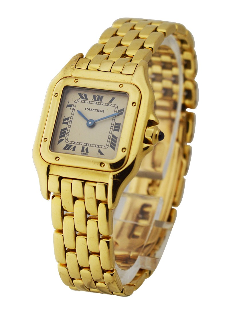 Cartier Panthere Small 22mm No Date in Yellow Gold
