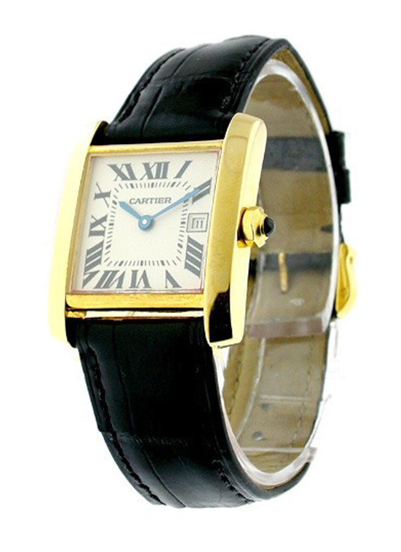 Cartier Tank Francaise   Mid Size Yellow Gold