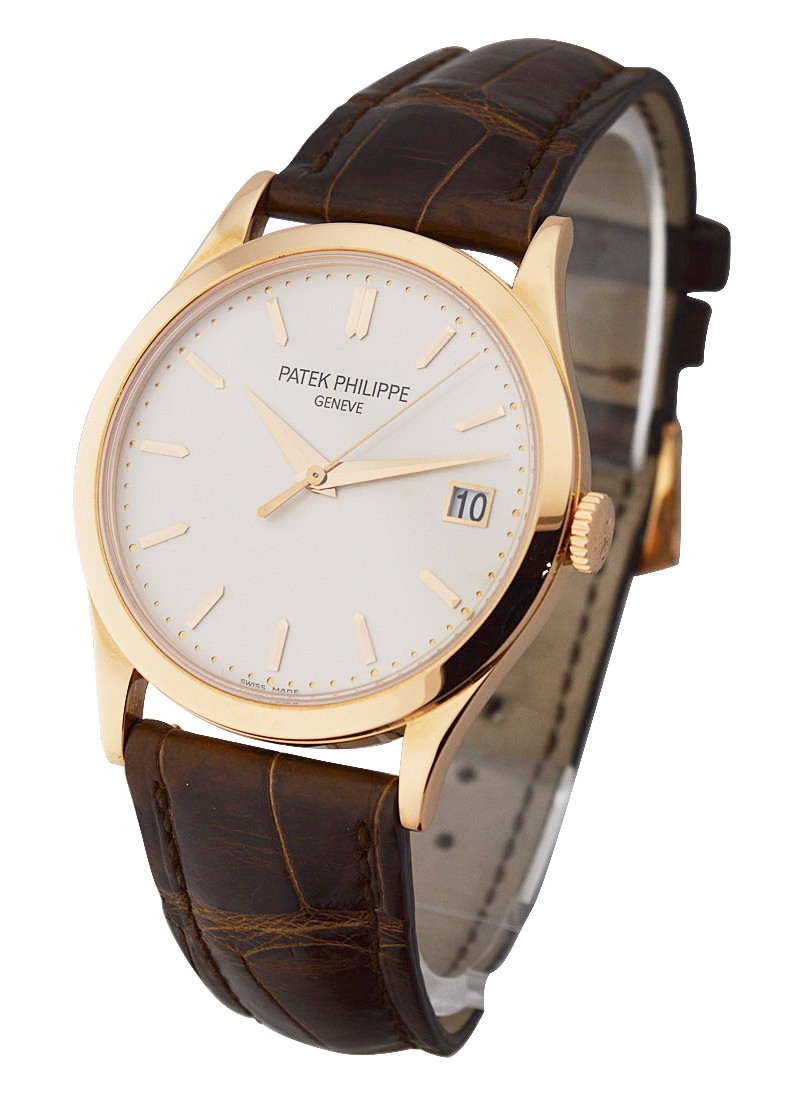 Patek Philippe Calatrava Ref 5296R in Rose Gold