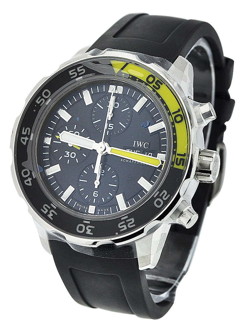 IWC Aquatimer Chronograph Mens 44mm Automatic in Steel