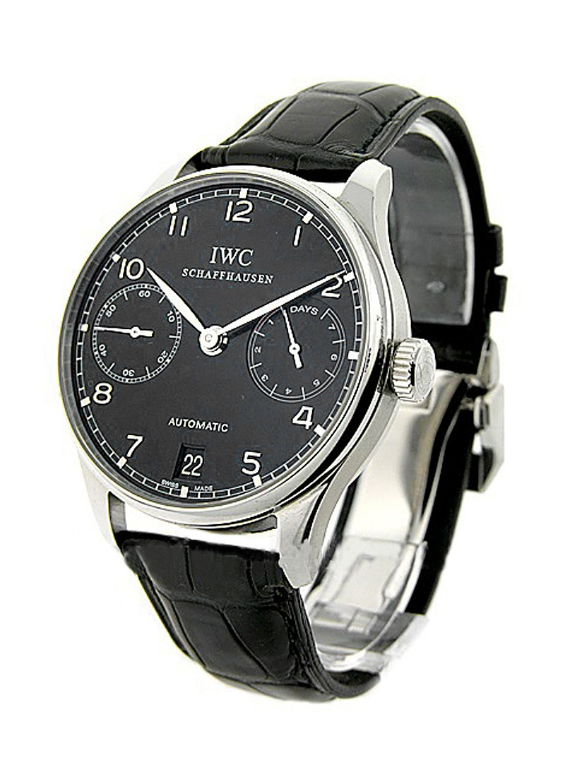 IWC Portuguese 7 Day 42mm Automatic in Steel